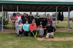 The Greasers at Two Rivers Slo Pitch Tournament 2018